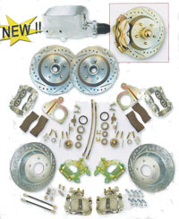64-73 Mustang Disc Brake Conversion Front, Rear and Electro-assist